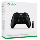Геймпад Xbox one + беспроводной адаптер для Windows 10 (Оригинал)