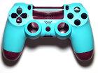 Корпус джойстика PS4 Dualshock 4 JDM-040 (Berry Blue) Special Edition (Премиум)