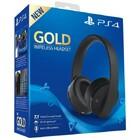 Наушники PS4 Sony Gold Wireless Headset V2 (Чёрные) New Version
