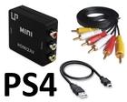PS4 переходник HDMI в AV тюльпаны 3RCA - композитный выход (Premium)