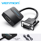 Переходник VGA в HDMI + аудио выход Оригинал (Vention)