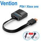Переходник HDMI TO VGA PS4, Xbox one + аудио выход (Vention) (Оригинал)