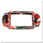 PS Vita силиконовый чехол (Камуфляж)(Red-black) (PCH-1000)