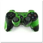 PS3 силиконовый чехол для джойстика (Камуфляж)(Green-brown)